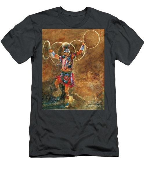 Hopi Hoop Dancer Men's T-Shirt (Athletic Fit)