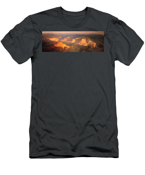 Hopi Point Canyon Grand Canyon National Men's T-Shirt (Athletic Fit)