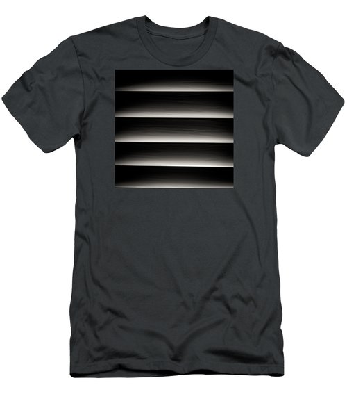 Men's T-Shirt (Slim Fit) featuring the photograph Horizontal Blinds by Darryl Dalton