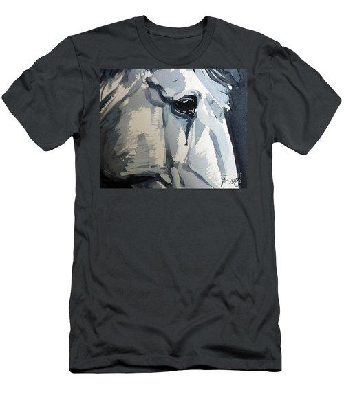 Horse Look Closer Men's T-Shirt (Athletic Fit)