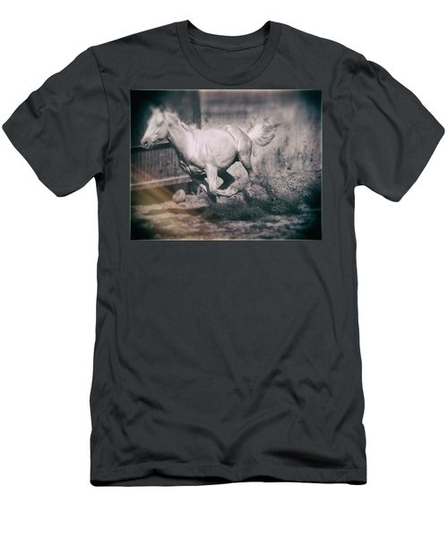 Horse Power Men's T-Shirt (Athletic Fit)