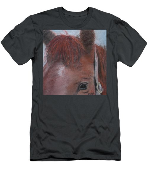 Horsin' Round A Bit Men's T-Shirt (Athletic Fit)