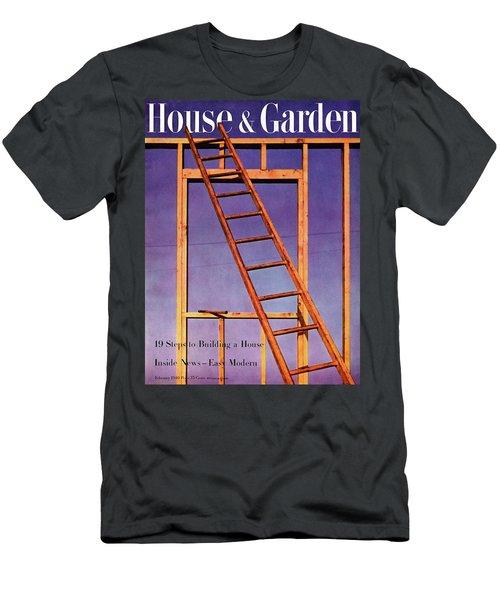 House & Garden Cover Illustration Of A Ladder Men's T-Shirt (Athletic Fit)