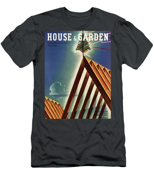 House And Garden Cover Featuring An Unfinished Men's T-Shirt (Athletic Fit)