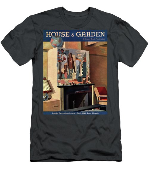 House And Garden Interior Decoration Number Cover Men's T-Shirt (Athletic Fit)