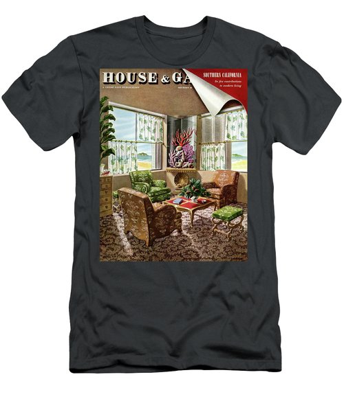House And Garden Issue About Southern California Men's T-Shirt (Athletic Fit)