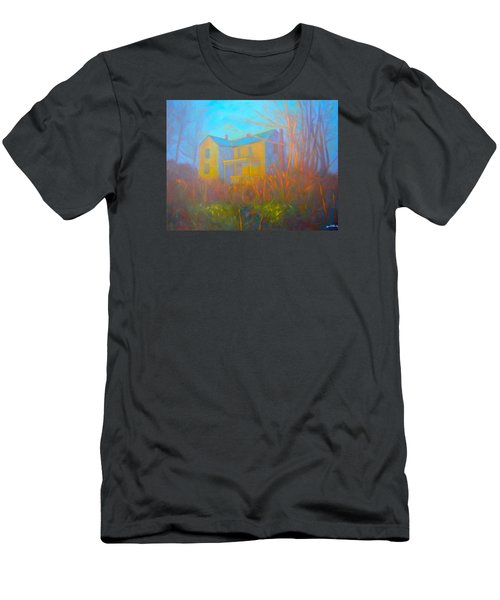 House In Blacksburg Men's T-Shirt (Slim Fit) by Kendall Kessler