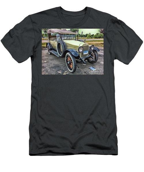 Men's T-Shirt (Slim Fit) featuring the photograph hudson 1921 phaeton car HDR by Paul Fearn