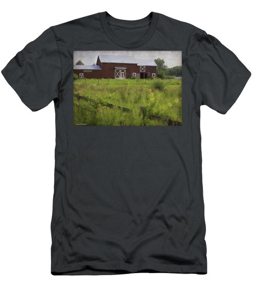 Hudson Valley Barn Men's T-Shirt (Athletic Fit)