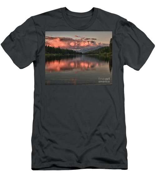 Hume Lake Sunset Men's T-Shirt (Athletic Fit)