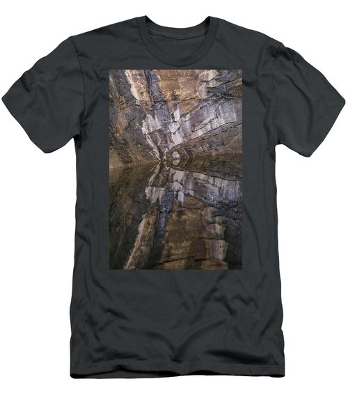 Hunter Canyon Seep Men's T-Shirt (Athletic Fit)