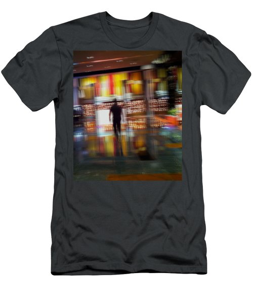 Men's T-Shirt (Slim Fit) featuring the photograph Hunter-gatherer by Alex Lapidus