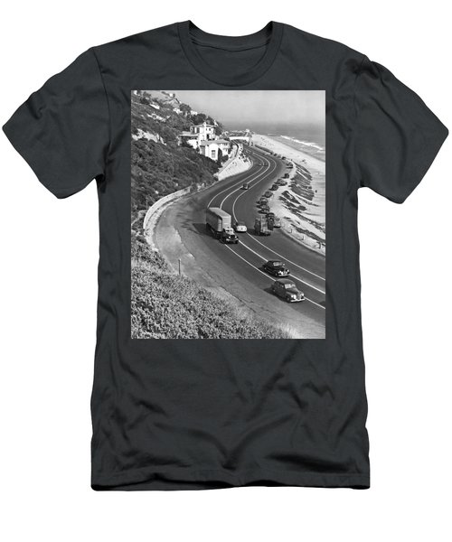 Hwy 101 In Southern California Men's T-Shirt (Athletic Fit)