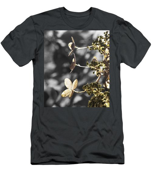 Hydrangea Flowers Men's T-Shirt (Athletic Fit)