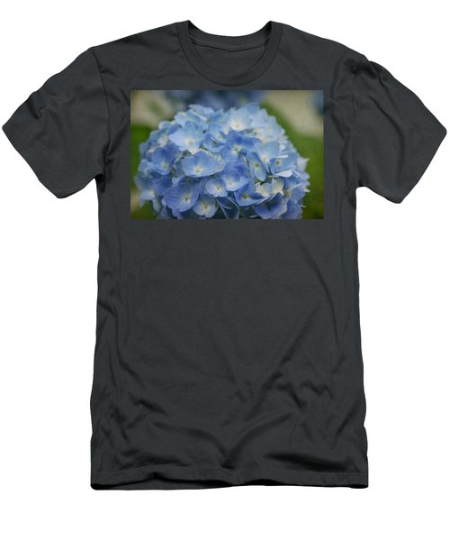 Hydrangea Solitude Men's T-Shirt (Athletic Fit)