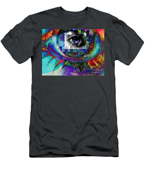 I Abstract Men's T-Shirt (Athletic Fit)