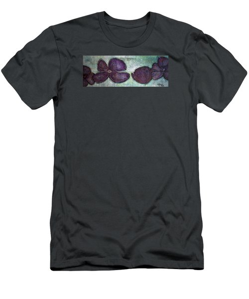 I Can See Home In Your Eyes Poppies Men's T-Shirt (Athletic Fit)