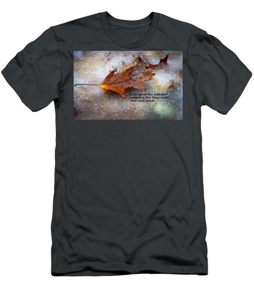 Men's T-Shirt (Slim Fit) featuring the photograph I Let Go by Patrice Zinck