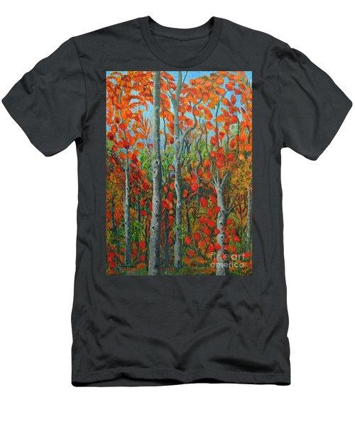 I Love Fall Men's T-Shirt (Athletic Fit)
