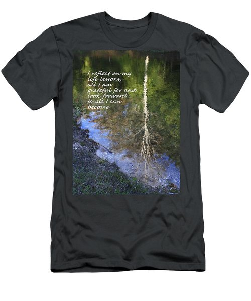 Men's T-Shirt (Slim Fit) featuring the photograph I Reflect by Patrice Zinck