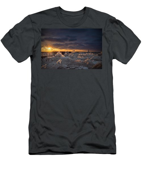 Ice Fields Men's T-Shirt (Athletic Fit)