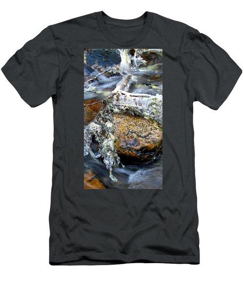Ice Ornaments Men's T-Shirt (Athletic Fit)