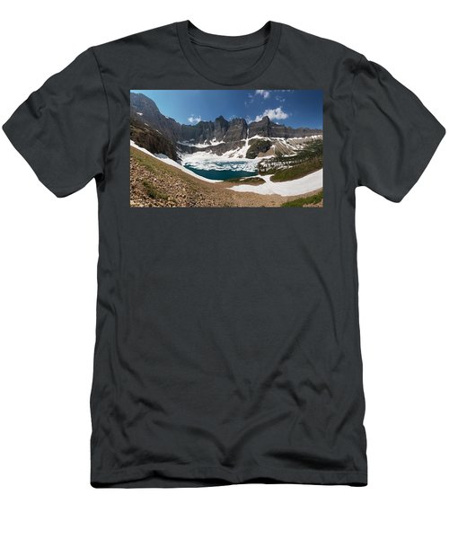 Iceberg Lake Men's T-Shirt (Slim Fit) by Aaron Aldrich