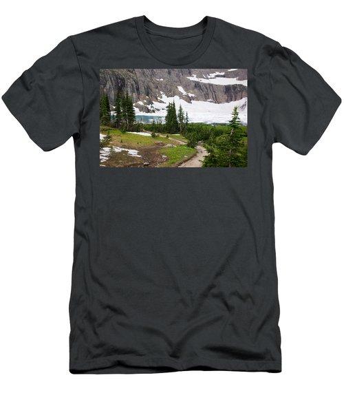 Iceberg Lake Men's T-Shirt (Athletic Fit)