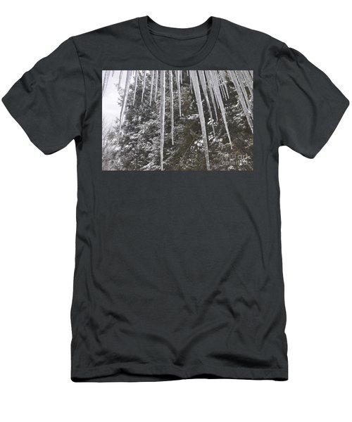 Icicle Dreams Men's T-Shirt (Athletic Fit)