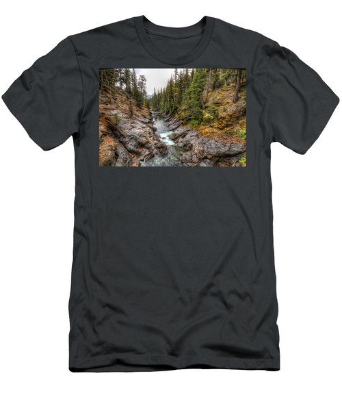 Icicle Gorge Men's T-Shirt (Athletic Fit)