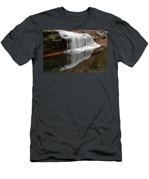 Icicle Reflection  Men's T-Shirt (Athletic Fit)