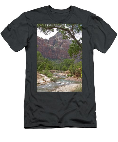 Iconic Western Scene Men's T-Shirt (Athletic Fit)