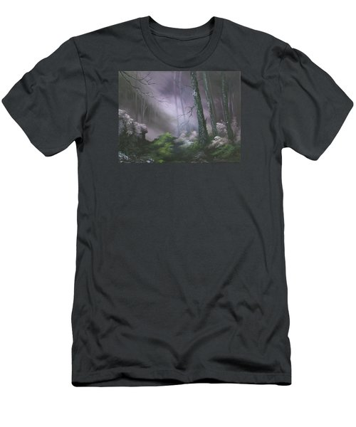 If You Go Down In The Woods Today ? Men's T-Shirt (Slim Fit) by Jean Walker