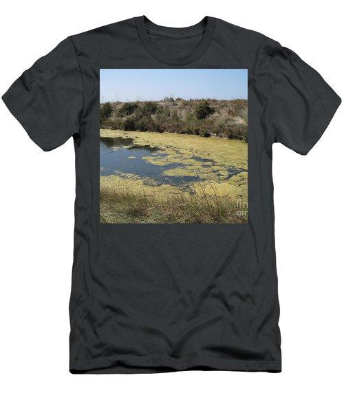 Ile De Re - Marshes Men's T-Shirt (Athletic Fit)