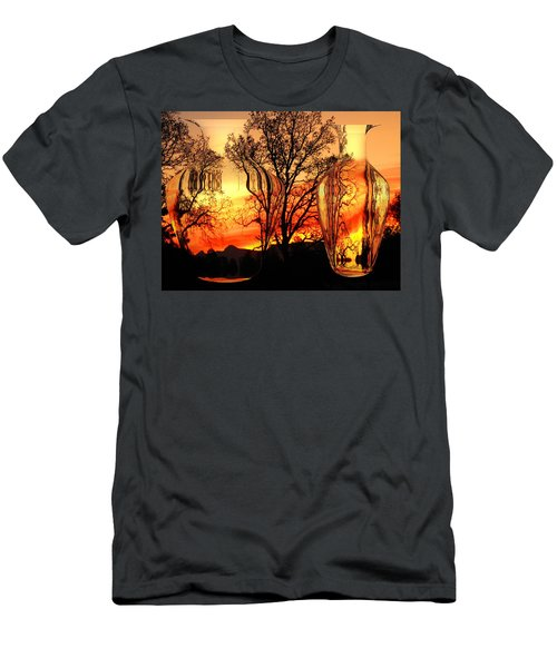 Men's T-Shirt (Slim Fit) featuring the photograph Illusion by Joyce Dickens