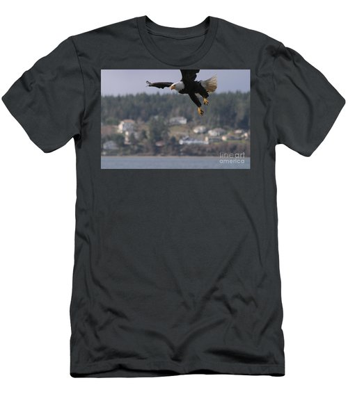 I'm Coming In For A Landing Men's T-Shirt (Slim Fit) by Kym Backland