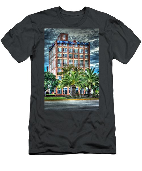 Imperial Sugar Factory Daytime Hdr Men's T-Shirt (Athletic Fit)
