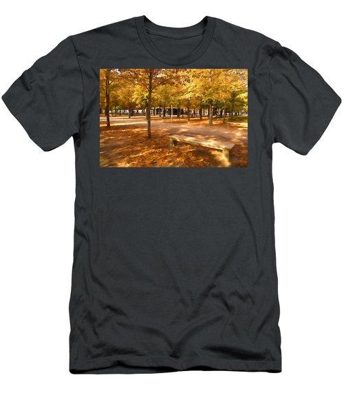 Impressions Of Paris - Tuileries Garden - Come Sit A Spell Men's T-Shirt (Athletic Fit)