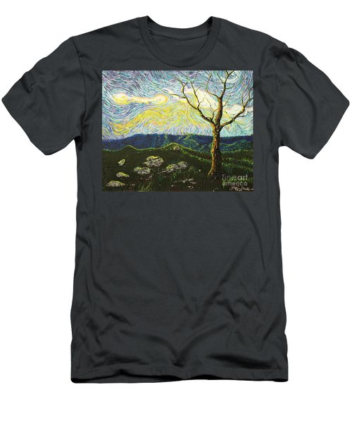 In Between A Rock And A Heaven Place Men's T-Shirt (Athletic Fit)