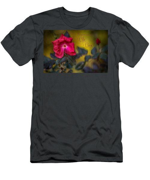 In Love With Message Men's T-Shirt (Athletic Fit)
