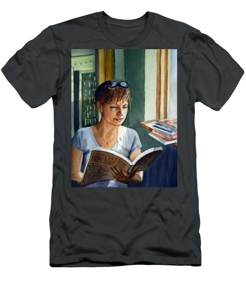 In The Book Store Men's T-Shirt (Athletic Fit)