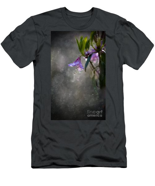 Men's T-Shirt (Athletic Fit) featuring the photograph In The Morning Rain by Jaroslaw Blaminsky