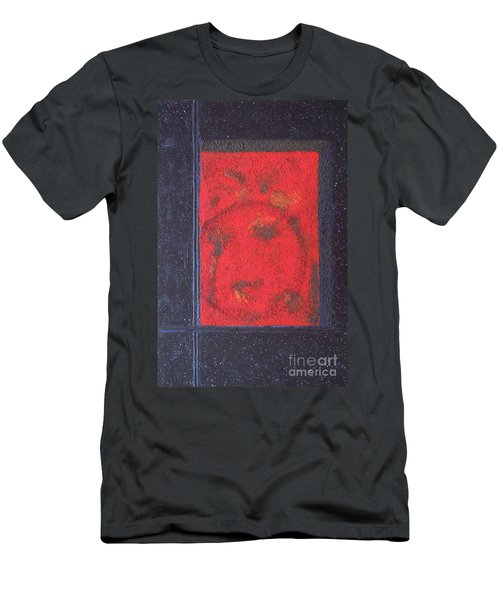 Men's T-Shirt (Slim Fit) featuring the painting In The Night Sky by Mini Arora