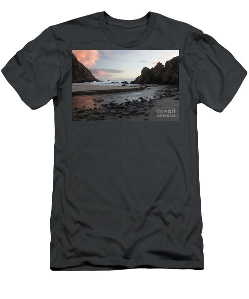 Men's T-Shirt (Slim Fit) featuring the photograph In The Pink by Suzanne Luft