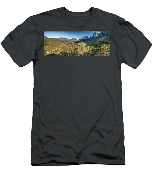 Index Mountains Panorama Men's T-Shirt (Athletic Fit)
