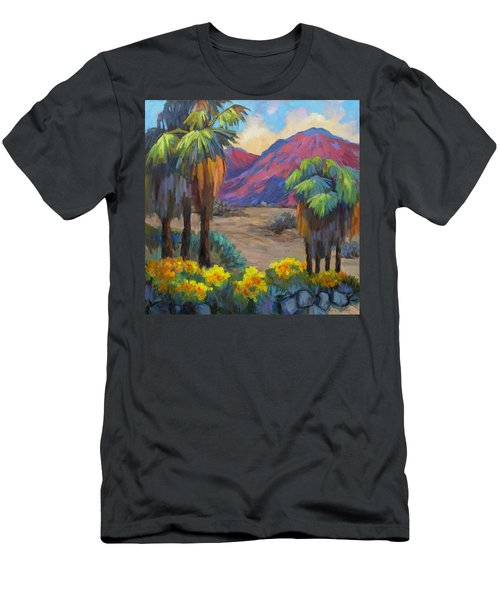 Indian Canyon In Spring Men's T-Shirt (Athletic Fit)