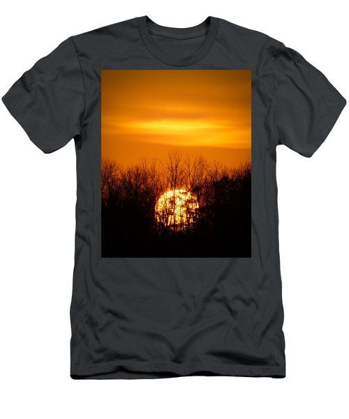 Inferno In The Trees Men's T-Shirt (Athletic Fit)