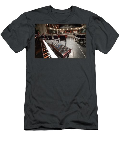 Men's T-Shirt (Slim Fit) featuring the photograph Inside Theater by Alex Grichenko