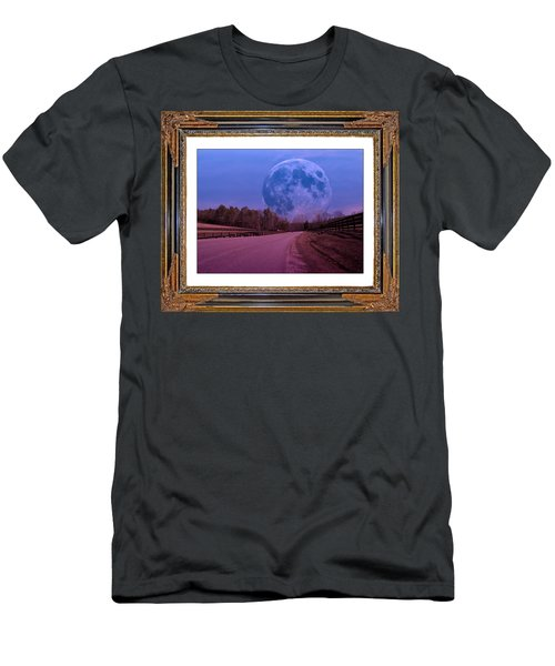 Inspiration In The Night Men's T-Shirt (Athletic Fit)