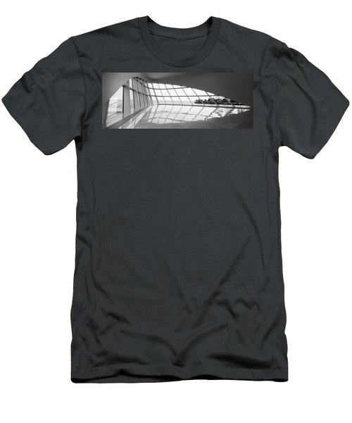 Interiors Of A Museum, Milwaukee Art Men's T-Shirt (Athletic Fit)